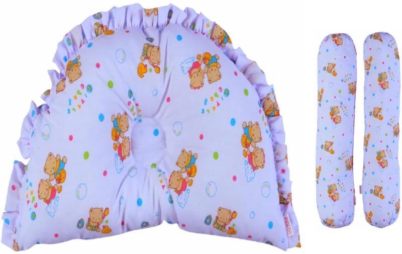 Pigeon Cotton Bedding Set(Multicolor) Pillow & Bolster Set