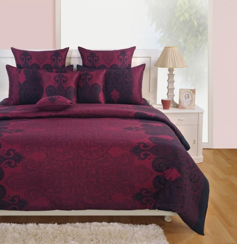 Swayam Cotton Bedding Set(Multicolor) BIB-Zinnia-