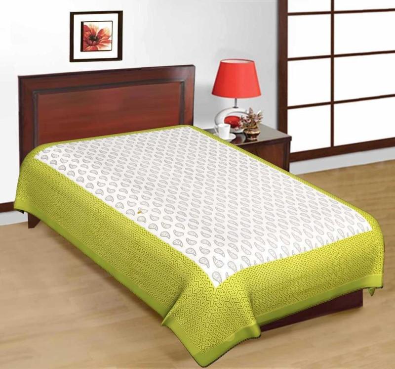 Firstchoice Cotton Printed Single Bedsheet(1 Bedsheet, Multicolor)