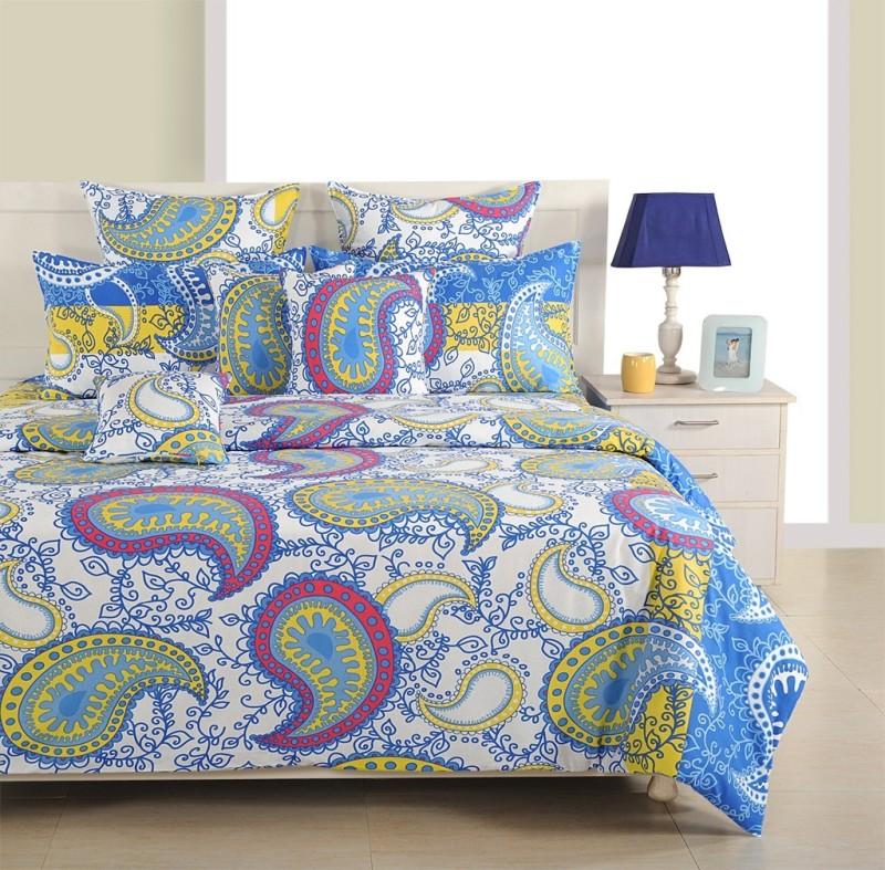 Swayam Cotton Bedding Set(Multicolor) BIB-WCS-VD-