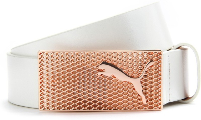 Puma Women White Belt
