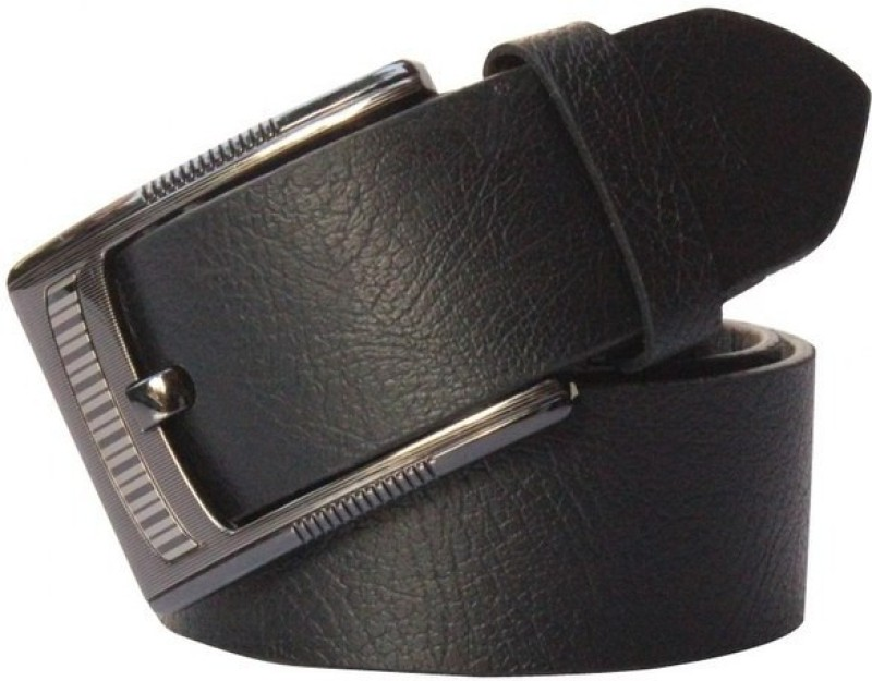 Winsome Deal Men Formal, Casual Black Genuine Leather Belt