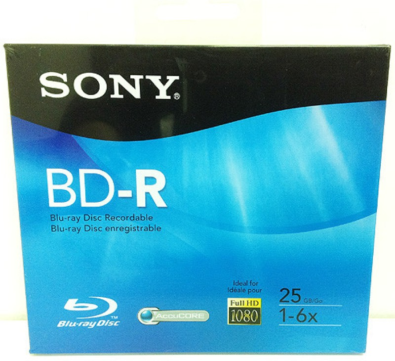 Sony Blu-ray Recordable Plastic Case 25(Pack of 10)