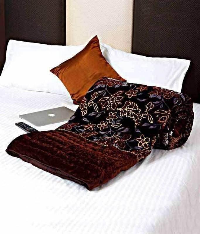 Divya Enterprises Floral Double Quilt, Comforter Multicolor(Jaipuri Razai Double Bed Quilt)