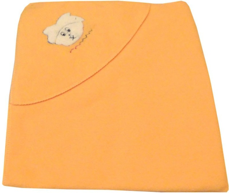 Baby Basics Plain Single Blanket Peach(1 Blanket)