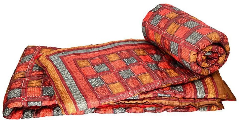 Indian Gift Emporium Damask Double Quilts & Comforters Multicolor(2 Double...