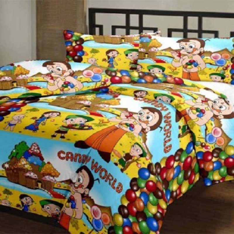 Armaan Cartoon Single Dohar(Microfiber, Multicolor)