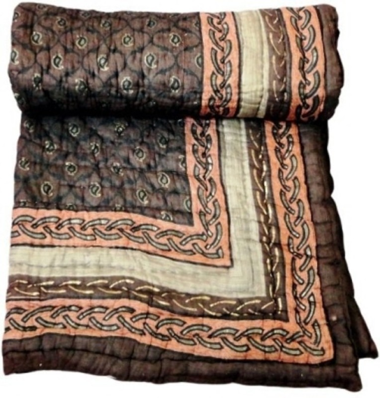 Ruchi World Paisley King Quilts & Comforters Multicolor(1 Blanket)
