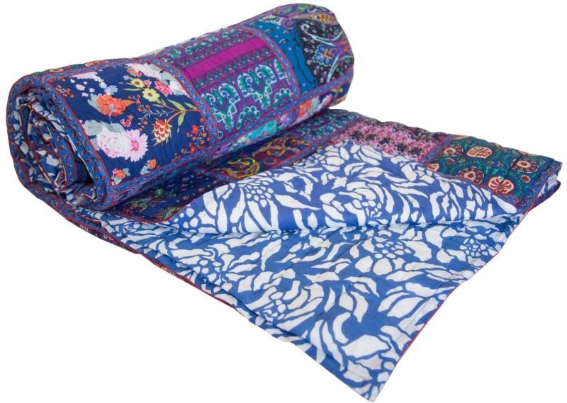 Reme Geometric Single Comforter(Microfiber, Multicolor)