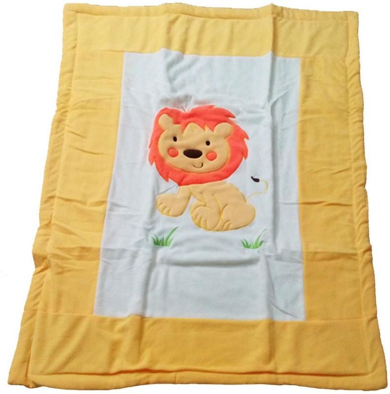 Baby Basics Cartoon Single Blanket Multicolor(1 Blanket)