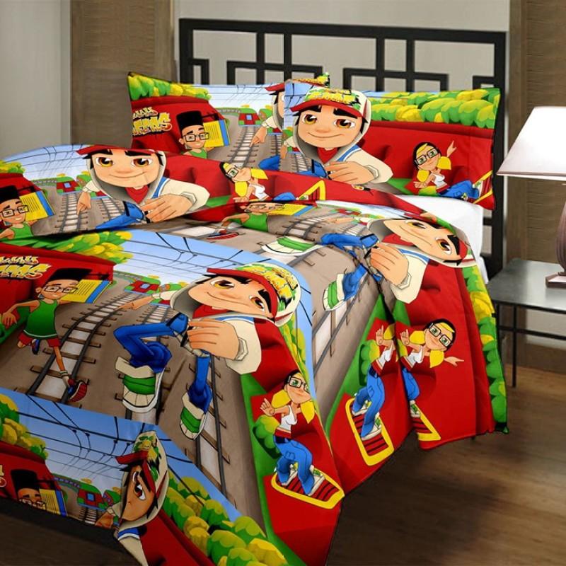 Blanket Zone Cartoon Single Dohar Multicolor(AC Dohar, Blanket)