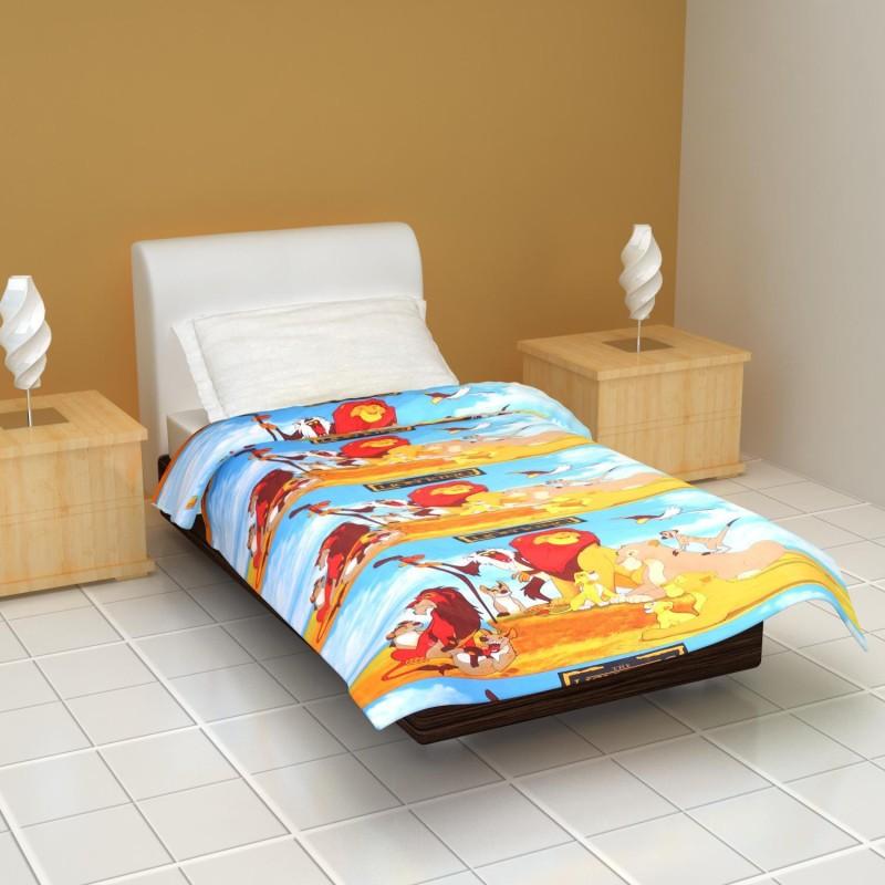 Clasiko Cartoon Single Dohar Multicolor(AC Blanket, 1 Ac Blanket/Dohar)