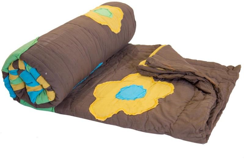 Reme Geometric Queen Comforter(Microfiber, Multicolor)