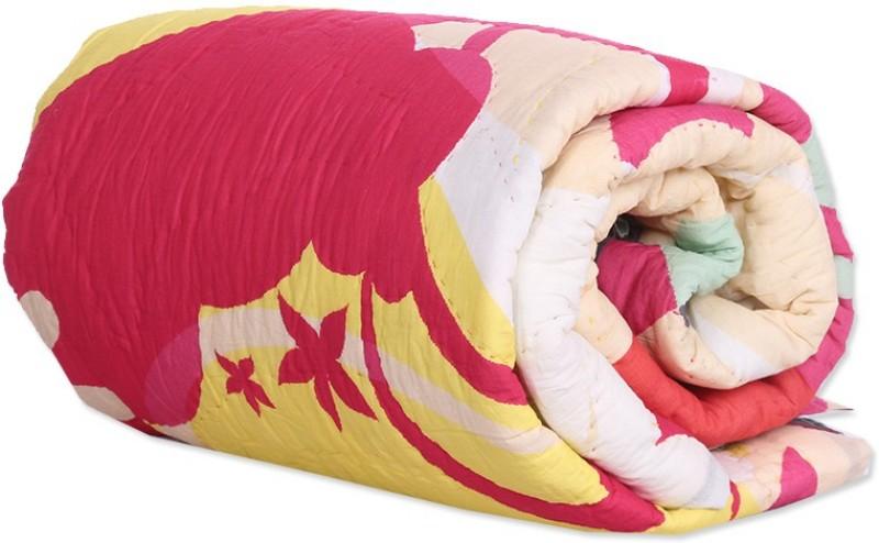 Reme Abstract Single Comforter(Microfiber, Multicolor)