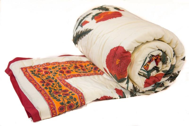 Reme Printed Single Comforter(Microfiber, Multicolor)