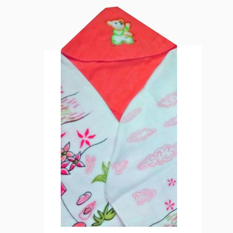 Baby Basics Cartoon Single Hooded Baby Blanket Orange(Fleece Blanket, 1 Blanket)