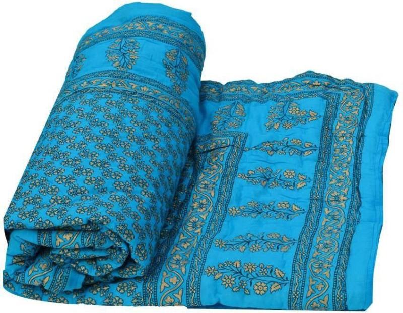 Phoenix International Floral Double Quilt, Comforter Multicolor(1 blanket)