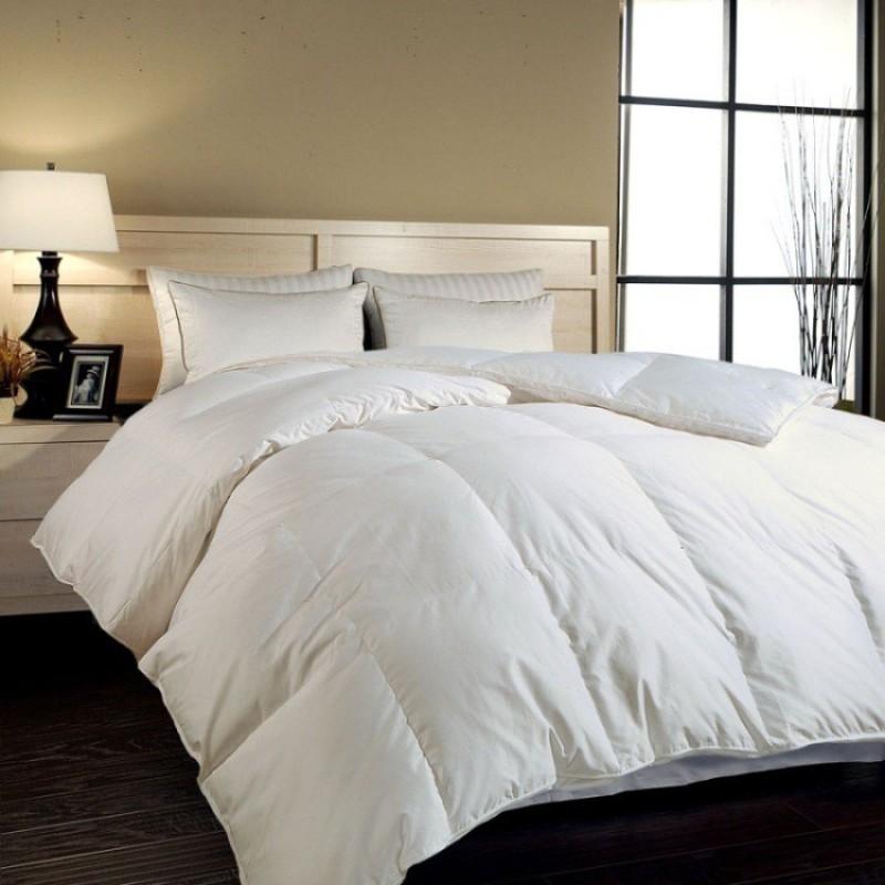 Iwonder Plain King Quilts & Comforters White(AC Blanket, 1 Comforter)