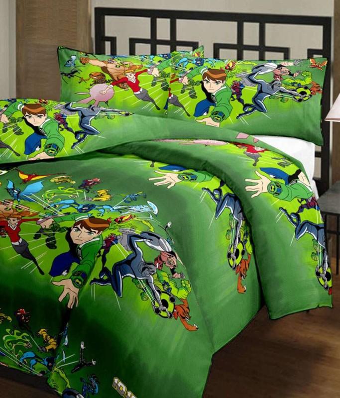 Blanket Bazaar Cartoon Single Dohar Multicolor(Blanket)
