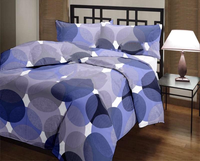 Factorywala Polka Single Blanket Dark Blue(AC Dohar, 1 Blanket)