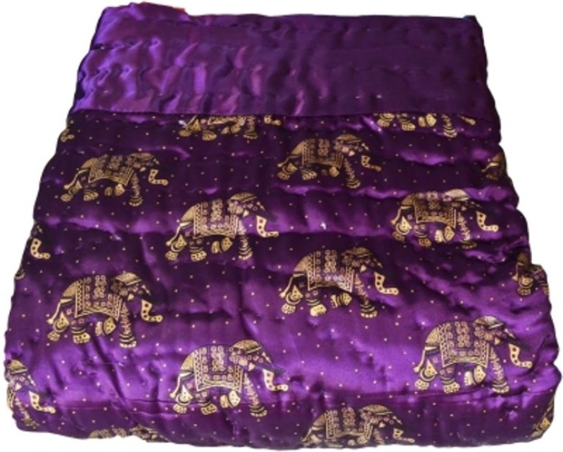 Ruchi World Animal King Quilts & Comforters Multicolor(1 Blanket)