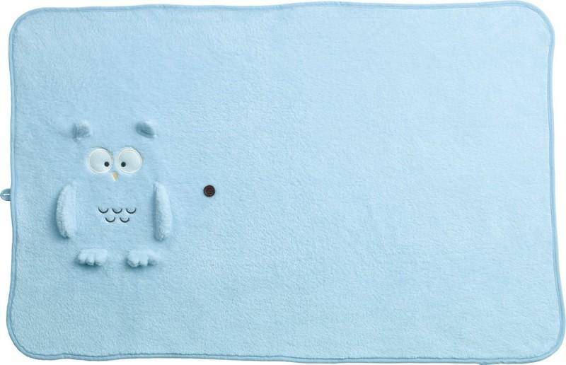 Go Travel Cartoon Single Blanket Blue