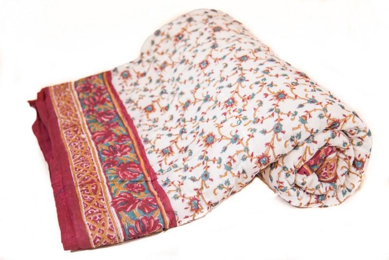 Reme Printed Queen Comforter(Microfiber, Multicolor)