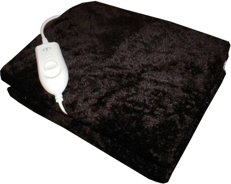 Expressions Plain Single Electric Blanket Brown(Electric Blanket)