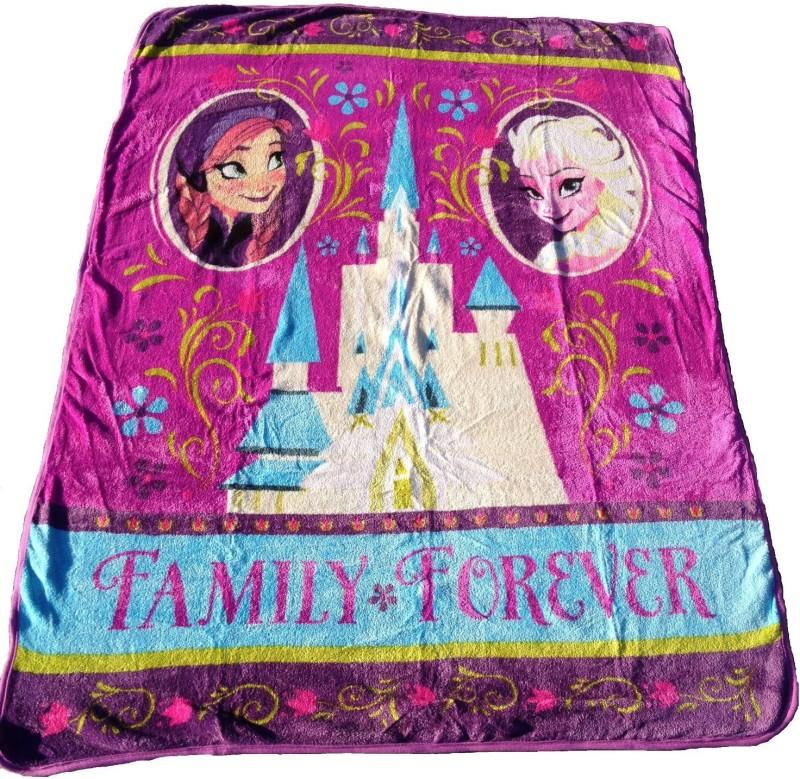 Disney Frozen Printed Queen Blanket Multicolor(Blanket)