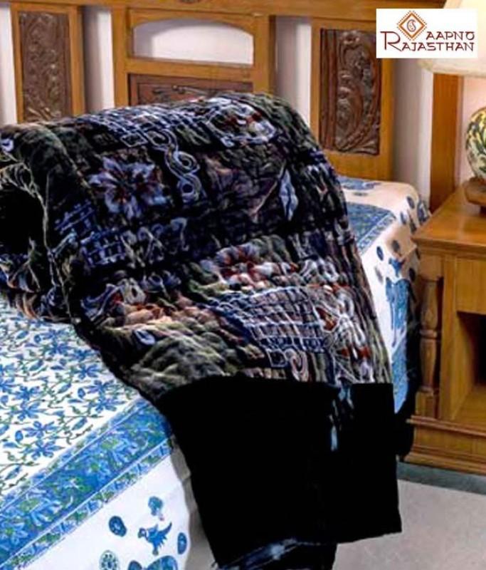 Phoenix International Floral Double Quilts & Comforters Multicolor(Jaipuri Razai Double...