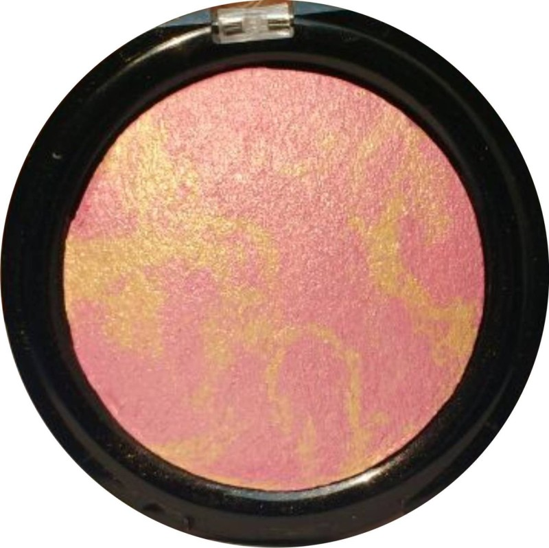 Cameleon Professional 3D water Proof Blusher & Highlitter(Golden Pink)