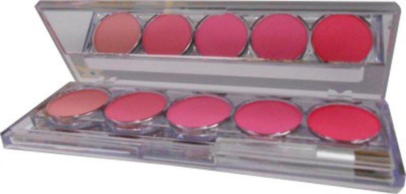 Kiss Beauty 5 Color Long Lasting Blusher Palette(multi)
