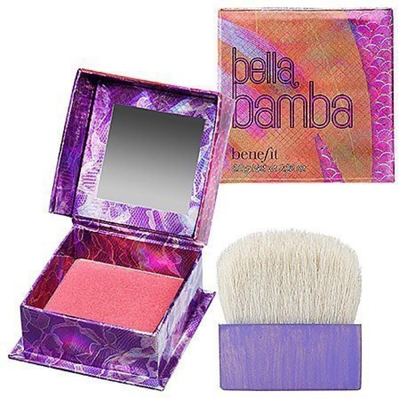 Benefit Cosmetics Bella Bamba 3D Brightening Watermelon Pink Face Powder/Blush(N/A)