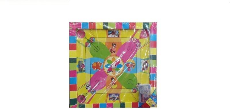 Ekku Carrom board Board Game