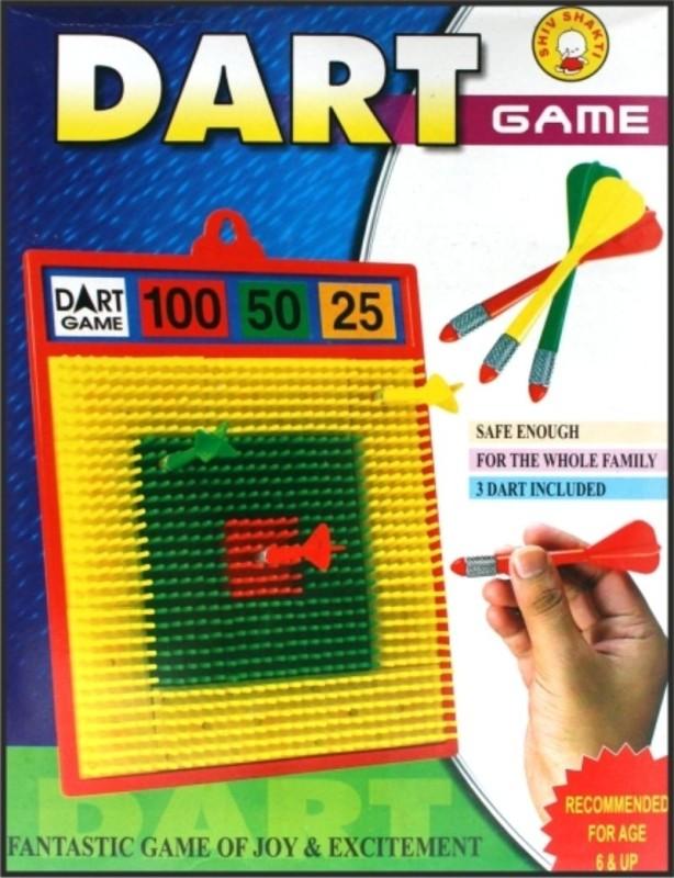 Ratnas Square Dart Game Board Game