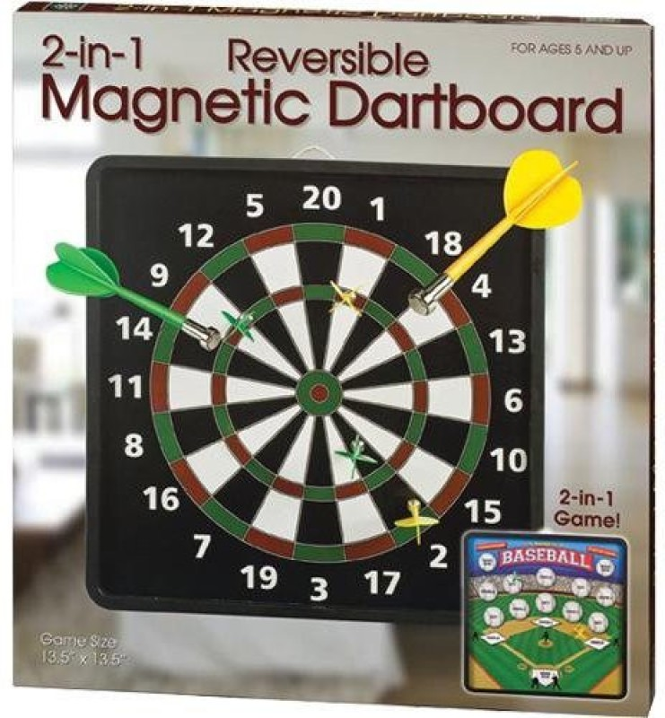 Westminster Inc Reversible Magnetic Dart Board Game