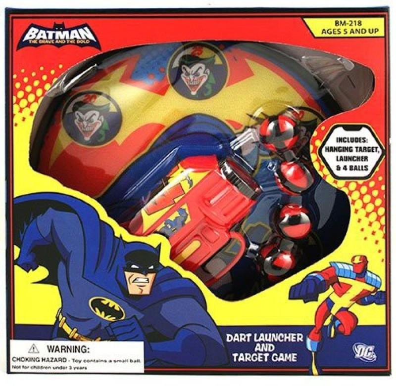 Batman Dart Launcher And Target Board Game