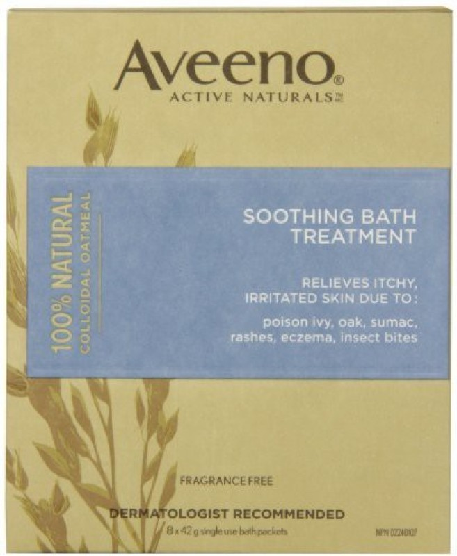 Aveeno Soothing Bath Treatment 8 Count(336 g)