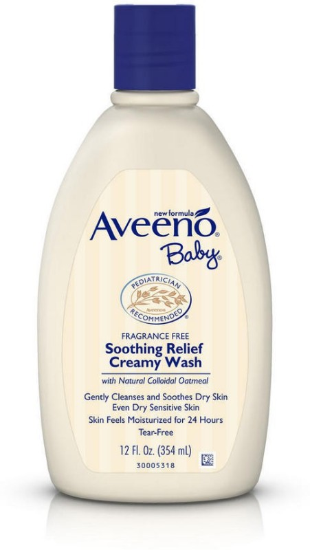 Aveeno Soothing Relief Creamy wash(354 ml)