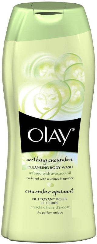 Olay Soothing Cucumber Cleansing Body Wash(353 ml)