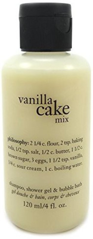 Philosophy Vanilla Cake Mix Shampoo & Bubble Bath(120 ml)