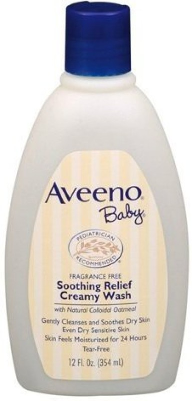 Aveeno Soothing Relief Creamy Wash 12 oz(354 ml)
