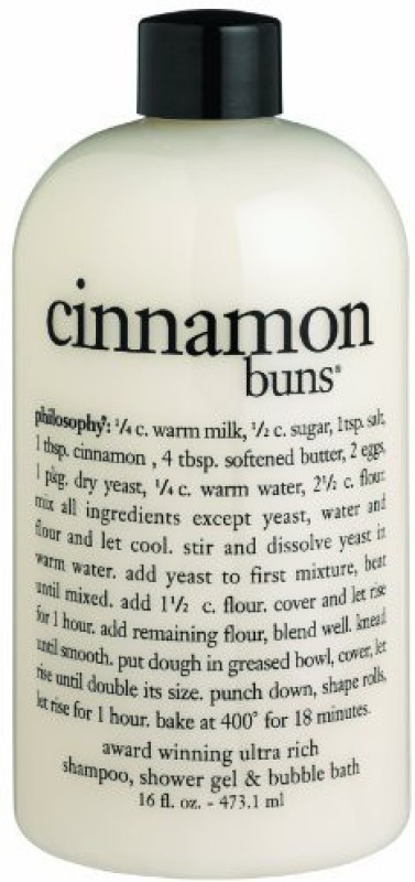 Philosophy Cinnamon Buns Shampoo//Bubble Bath s(473 ml)