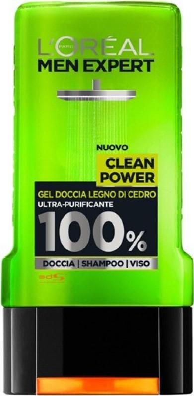 L'Oreal Paris Men Expert Clean Power Citrus Wood Shower Gel(299 ml) Men Expert Clean Power Citrus Wood Shower Gel