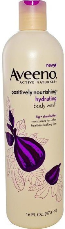 Aveeno ACTIVE NATURALS POSITIVELY NOURISHING HYDRATING BODY WASH(473 ml)