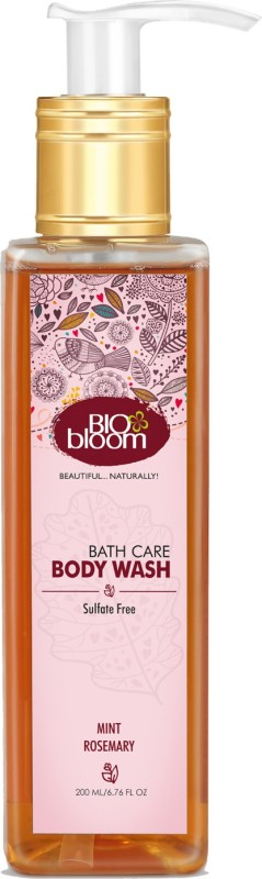 BioBloom Body Wash - Mint & Rosemary(200 ml)