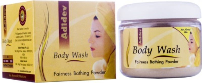 Adidev Herbals Ayurvedic Skin Brightening Body Wash For Normal Skin(100 g)