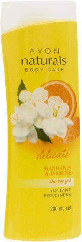 Avon Naturals mandarin & jasmine shower gel(200 ml)
