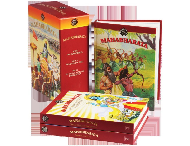 Mahabharata (Set of 3 Volumes)(English, Hardcover, Anand Pai)