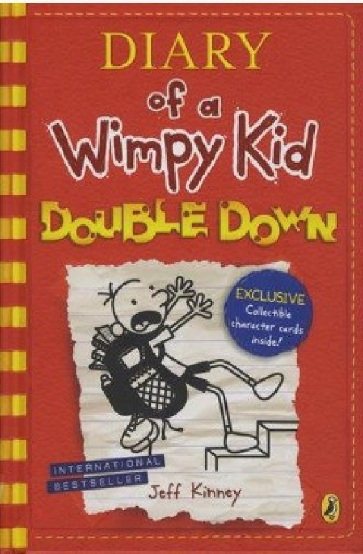 Diary of a Wimpy Kid : Double Down(English, Hardcover)
